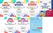 Olympiad Champs Science, Mathematics, English, Logical Reasoning, Cyber & GK Class 3 with 28 Mock Tests (s
