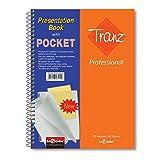 Lé Color 33700/1 Tranz Professional PP Kapak, 1.hamur kağıt 20 adet dosya poşeti içerir, Turuncu