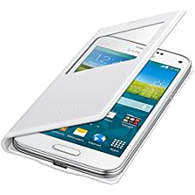 Samsung BT-EFCG800BH - Funda tipo flip para Samsung G800F Galaxy S5 mini, color blanco