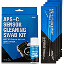 VSGO DDR-16 - Kit de Bastones de Limpieza para Sensor APS-C,