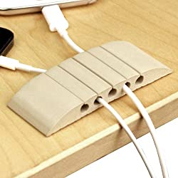Ut Wire Utw-cs05-bg Cable Station Mini Mountable Organizer, Writable Beige