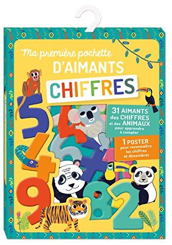 Ma première pochette d'aimants - Chiffres