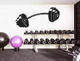 I-love-Wandtattoo WAS-11663 Wohnraum Fitness Wandsticker