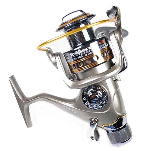 yoshikawa-carp-sea-fishing-spinning-reel-baitrunner-aluminum-spool-handle-11-ball-bearings-cy4000