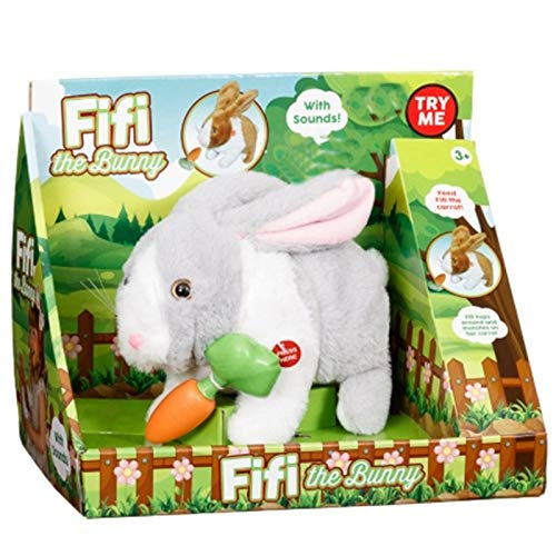 Elegent Fifi the Electronic Soft Bunny Toy Rabbit Sound Kid's
