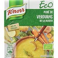 Knorr Eco Puré de Verduras de la Huerta - Paquete de 12 x 300 ml - Total: 3600 ml