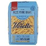 Voiello Mezze Penne Rigate, Pasta di Semola di Grano Duro - 500 gr