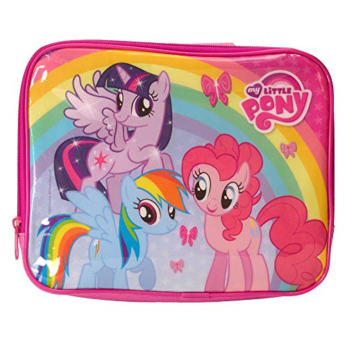 (Boyz Toys ST350 Lunchtasche My Little Pony, isoliert, Polyester, Pink, 7 x 21 x 26 cm)