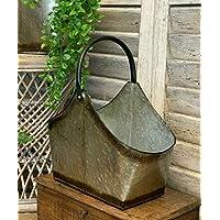 Homes on Trend Garden Decorative Herb Planter Window Box Trug Metal Pot Rustic Style Wedding Decoration - Small