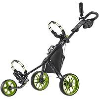 Caddytek Carrito de Golf de 3 Ruedas – Ligero, Plegable y Cerrado, fácil de Abrir – CaddyLite 11.5 V3, Unisex Adulto, CaddyLite 11.5 V3 - Green, Verde Lima, Talla única