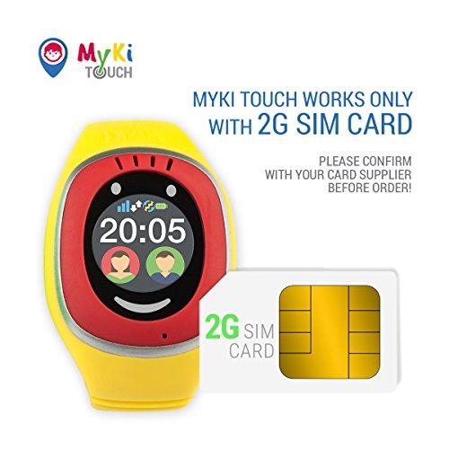 MyKi GPS Uhr Kinder, Smartwatch mit GPS Tracker, Handy Ortung, SOS und App Tracking in Deutsch Abbildung 2
