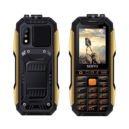 """Price comparison product image feiledi Trade Big Button Easy to use Senior Citizen Dual SIM Cards Mobile Phone for the elderly - SERVO X7 Mobile Phone 3 SIM Cards 2.4"""" Flashlight Power Bank 4000Mah SOS Cell Phones"""