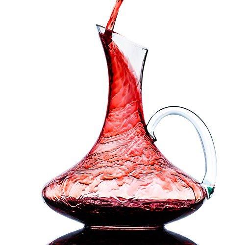 Decantador de vino de cristal culinaire