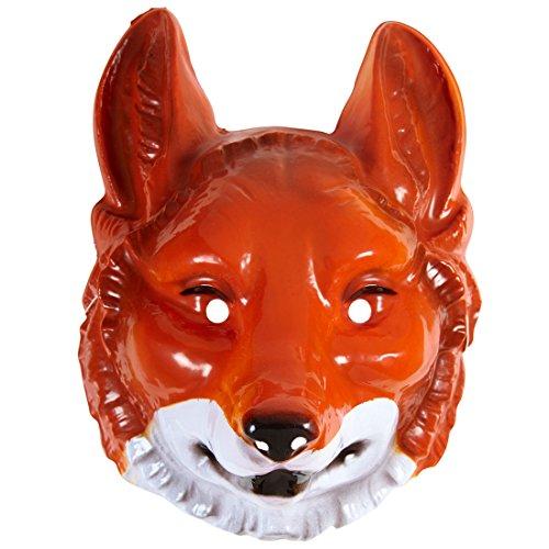 Imagen de zorro máscara máscara zorro rojo zorro animales máscara máscara fox carnaval máscara animales cuento animales disfraz accesorio máscaras de animales zoo adultos