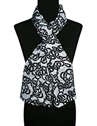 BOLLYWOOD ACCESSORY - Polyester Abstract Print Scarf/Stole/Dupatta (Style No. BA1175)