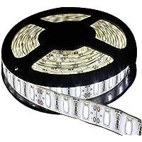 JOYLIT Tiras LED 12V Blanco frío 6000-6500K 300 LEDs SMD5630 IP65 Impermeable 5 metros