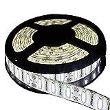 JOYLIT 5m 300 LEDs 5630 SMD DC 12V Kaltweiß 6500K LED Strip Leiste Streifen Licht Wasserdicht IP65 Lichterkett