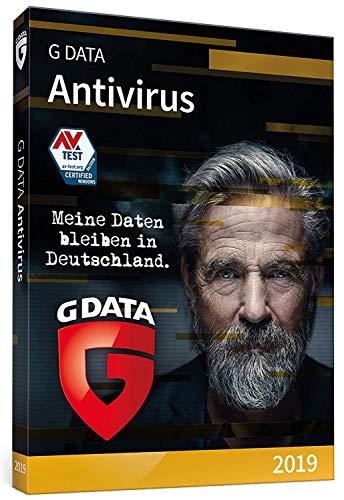 G DATA Antivirus 2019 | DVD | 1 PC | 1 Jahr | Windows | vielfach ausgezeichneter Virenscanner | Antivirenprogramm | Trust in German Sicherheit