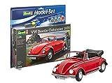 Revell Modellbausatz Auto 1:24 - Volkswagen VW Käfer Cabriolet 1970 (VW Beetle) im Maßstab 1:24, Level 4, originalgetreue Nachbildung mit vielen Details, , Model Set mit Basiszubehör, 67078