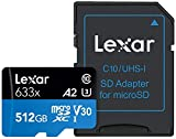 Lexar Schede Professional 633x 512GB microSDXC UHS-I