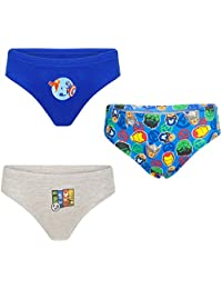 (3 Pack) - Boys Marvel Avengers 100% Cotton Briefs Pants Underwear