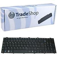 Trade-Shop Premium Laptop-Tastatur / Notebook Keyboard Ersatz Austausch Deutsch QWERTZ für Fujitsu-Siemens Lifebook A530 A531 AH530/GFX AH512 AH530/HD6 AH530 AH531 NH751 (Deutsches Tastaturlayout)