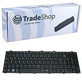 Trade Shop Premium tastiera del computer portatile/notebook Keyboard ricambio Scambio tedesco QWERTZ sostituisce Fujitsu Siemens Lifebook cp487051–02cp478133–02cp490711–02per A530A531AH512AH530AH531NH751(Deutsches tastiera layout)