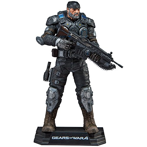 Gears of War 12017 Marcus Fenix Action-Figur (Rifle Basen)