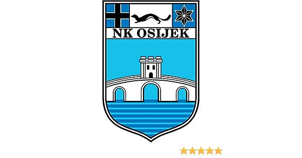 Nk Osijek Fc Croatia Soccer Football Hochwertigen Auto Autoaufkleber 10 X 12 Cm Küche Haushalt