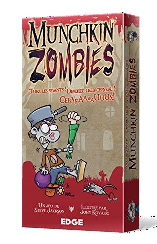 Asmodee nbsp;–UBIMZ01–Juegos de cartas–Munchkin Zombies
