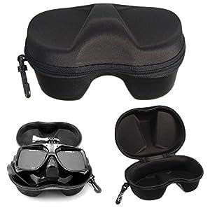 Caso de Caja de la Máscara de Buceo Lentes para Gopro Hero 1 2 3 3 + 4 de Xiaomi yi Buceo Máscara