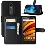HualuBro Moto X Force Case, Premium PU Leather Wallet Flip