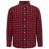 TOM TAILOR für Babies, für Jungen Blusen, Shirts & Hemden Kariertes Hemd Bright Cherry red, 128/134