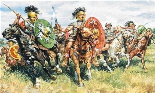 Italeri 6028 - roman cavalry scala 1:72