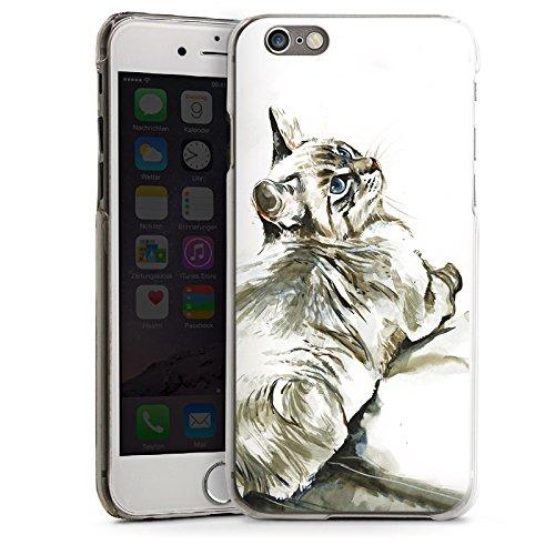 Apple iPhone 5s Housse Étui Protection Coque Chat Petit chat Kitten CasDur transparent
