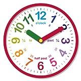 Acctim 21884 Lulu Reloj de pared, color rojo