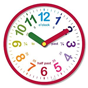 Acctim 21884 Lulu Wall Clock, Red