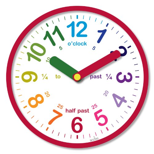 acctim-21884-lulu-wall-clock-red