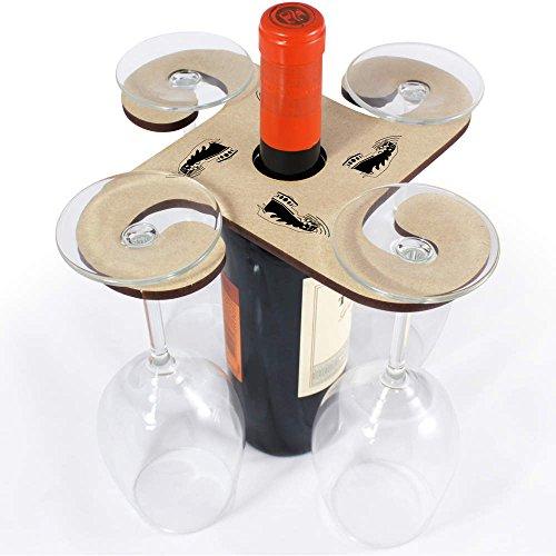 Azeeda 'See Boot' Weinglashalter / Flaschenhalter (GH00029446)