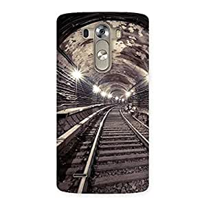 Premium Track in Tunnel Back Case Cover for LG G3