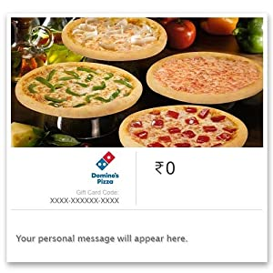 Dominos - Instant Voucher: Amazon in: Gift Cards