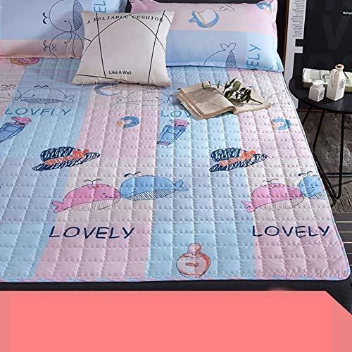 *fgdsa Nicht-Slip Dick Tatami Matratze,Faltbare Isomatte,Student Einzel-internat Doppelmatte Home Floor Schlafpad Mietraum Gewidmet-e 150x200cm(59x79inch)*