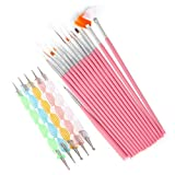 AIUIN - Juego de 20 bolígrafos para manicura y pedicura