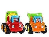 #5: Smartcraft UNBREAKABLE Automobile CAR Toy Set For Children Kids toy Set of 2 Construction Machine