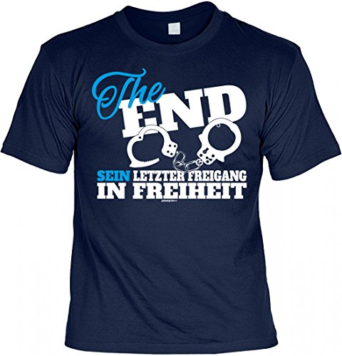 Infinite Outfits T-Shirt Junggesellenabschied - The End Sein -