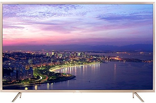 TCL L55P2MUS 4K UHD Google Android M Smart LED TV (Gold) 1