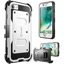 "i-Blason Armorbox 4.7"" Carcasa rígida Blanco - Fundas para teléfonos móviles (Carcasa rígida, Apple, iPhone 7, 11,9 cm (4.7""), Blanco)"