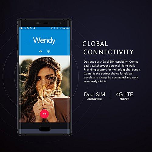 MAZE COMET Tel  fono Inteligente 4G con pantalla de 5 7 pulgadas Android 7 0 4GB de RAM ROM de 64 GB 1440   720P HD   IPS Bater  a de 4000mAh OTG Luz