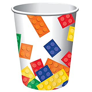 Creative Converting Building Block Party 9-oz Paper Cups