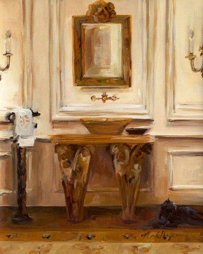 Acrylglasbild Marilyn Hageman   Classical Bath I   30 X 37.5cm    Premiumqualität   Modern
